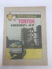 THE ADVENTURES OF TINTIN #8 - 1980s - Foreign Comic Book - VERY RARE - 5.5 FN-