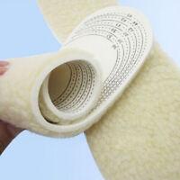 Unisex Men Women's Winter Warm Soft Wool Winter Shoe Insole Pad Size 36-46 New
