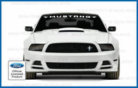 FORD PERFORMANCE  Windshield Decal Ford Mustang GT F150 F250 Focus ST