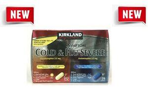 Kirkland Signature Severe Cold & Flu Multi-Symptom Caplets, 168 Caplets
