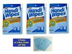 HEAVY DUTY HANDY CLOTHS ABSORBENT MULTIPURPOSE CLEANING TOWELS 3 PKS/9 Blue