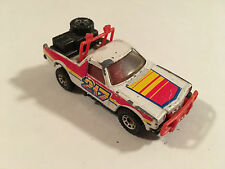 Matchbox Lesney 1977 Holden HJ Ute Ruff Trek Pickup Used Model 1:64 Scale White