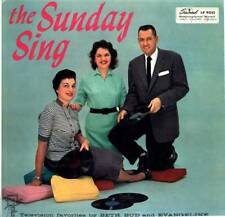 LP THE SUNDAY SING BETH BUD AND EVANGELINE