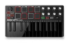 Akai MPK Mini MKII LE Black - Portable Laptop USB MIDI Drum Pad Keyboard Control