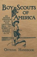 Boy Scouts of America Official Handbook: Original Edition by Seton, Ernest Th…