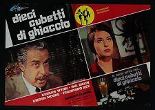 FOTOBUSTA 1, DIECI CUBETTI DI GHIACCIO Run Like a Thief GLASSER THRILLER POSTER
