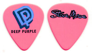 Deep Purple Steve Morse Signature Pink Guitar Pick - 2017 The Long Goodbye Tour