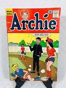 ARCHIE COMICS * ARCHIE * #141 🤣😂 1963 SILVER AGE VG