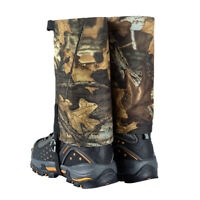 Waterproof Gaiters Protection Guard Boot Leg Cover Snow Ski Climbing Hiking