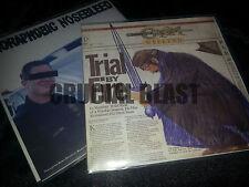 "AGORAPHOBIC NOSEBLEED / CROM split 7"" EP import avant grindcore pig destroyer"