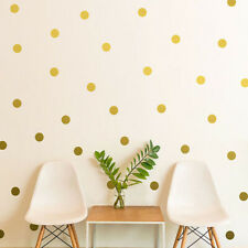 52Pcs Polka Dots Wall DIY Sticker Baby Nursery Stickers Kids Home Wall Decor