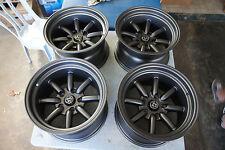 "JDM 15"" X 9"" Datsun pcd114.3 X 5 wheels style 240sx watanabe s13 5lug 180sx"