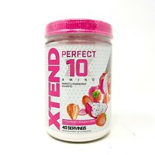Scivation XTEND BCAA PERFECT 10 Amino EAAs 40Srv Amino Acids Powder Like Amino x
