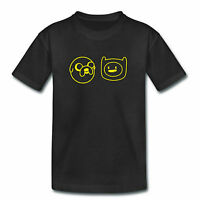 Kids TShirt - ADVENTURE TIME FINN & JAKE - Childrens Boys Girls - Jake The Dog