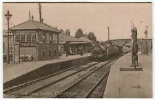More details for railway station, trawsfynydd - merionethshire postcard