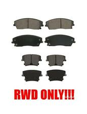 300 CHALLENGER CHARGER MAGNUM 300C RWD Front and Rear Ceramic Brake Pads
