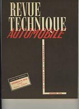 (C3B)REVUE TECHNIQUE AUTOMOBILE HOTCHKISS PL 20-25 / TRACTEUR FERGUSON