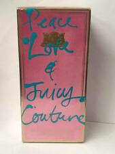 Peace Love and Juicy by Juicy Couture 3.4 oz Eau de Parfum Spray *NIB & SEALED*