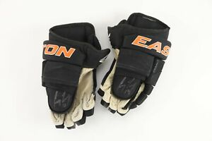 COREY PERRY Anaheim Ducks GAME USED & AUTOGRAPHED Easton Hockey Gloves NHL