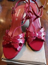 Size 5 Kaleidoscope Red Sandals