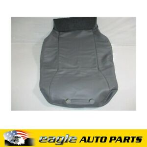 SAAB 9-3 R/H FRONT SEAT BACK COVER GREY 2004 2005 NEW GENUINE # 12803601