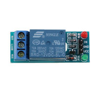 1PC DC 12V 1 Channel Low Level Power Supply Relay Module Board for