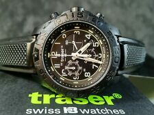 TRASER H3 P96 ODP EVOLUTION CHRONOGRAPH SWISS MILITARY MENS WATCH 108678 NEW