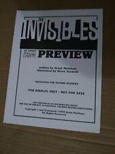 Invisibles Vertigo preview book 1994 Grant Morrison DC comics promo