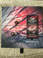 DETROIT RED WINGS INAUGURAL SEASON OPENING NIGHT COMMEMERATIVE TICKET 10/5/17