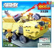 COGO 3329 Army Action Rocket / Missile Launcher Building Block 219 PCS