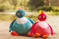 New Twirlywoos Chickedy Chick Peekaboo plush Toy 2PCS 26cm Gift