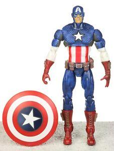 "Marvel Universe Ultimate Avengers CAPTAIN AMERICA 3.75"" Figure 012 Hasbro 2009"