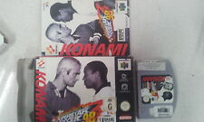 Konami International Superstar Soccer 98 Nintendo 64 N64 Boxed With Manual PAL
