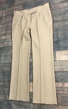 SALVATORE FERRAGAMO 100% Wool Pants Trousers Size 44 / US 10 Made in Italy