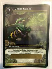 WOW TCG - Goblin Gumbo unscratched Loot Card