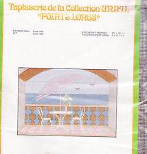 Needlepoint Canvas: La Terrasse The Terrace 13 mesh 11 x 15 in.