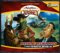 NEW Risks and Rewards Adventures in Odyssey Vol #24 Audio CD Unabridged Volume