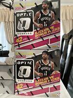 2019-20 Panini Optic Basketball Sealed Mega Box 42 Cards 10 Hyper Pink Parallels