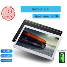 10.1 Inch Tablet Android 4.4 Bluetooth WiFi 3G PC 1+16G 2 SIM GPS Double Camera