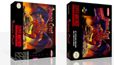 Demons Crest SNES Replacement Game Case Box + Cover Art Work (No Game)