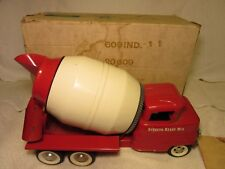 1960's Structo Cement Mixer In Original Box Excellent!