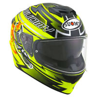 Casco integrale moto Suomy Stellar Boost yellow fluo pinlock sport touring