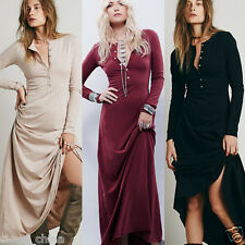 Cotton Office Lady Wear To Work Button Up Maxi Sheath Straight Bodycon Dress