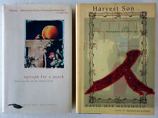 David Mas Masumoto Lot 2 HC/DJ: Epitaph for a Peach 1995 and Harvest Son 1998