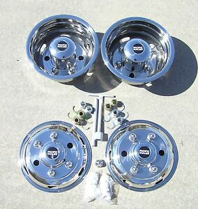 "16"" ISUZU NPR 6 Lug Dually Wheel Covers"