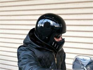TT&CO TT02 Japan Full Face Set Helmet with glasses Rider Motorcycle Helmet Prote