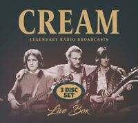 CREAM - LIVE BOX  3 CD NEU