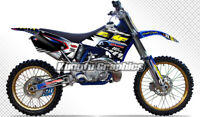 Motocross Graphics Stickers for Yamaha YZ125 YZ250 1996 1997 1998 1999 2000 2001