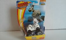 BLAZE and the MONSTER Machines Zebra Truck Die-Cast Nickelodeon Fisher-Price New