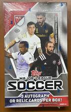 2021 Topps MLS Major League Soccer Hobby Box Sealed 3 Auto/Mem Per - TCCCX